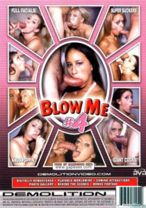 Blow Me 4 - cover bagside