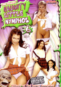 Naughty Little Nymphos 6 - cover forside