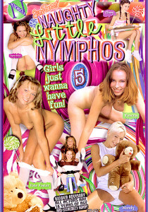 Naughty Little Nymphos 5 - cover forside